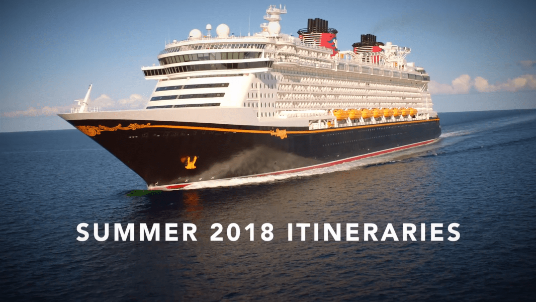 New Itineraries for Disney Cruise Line!