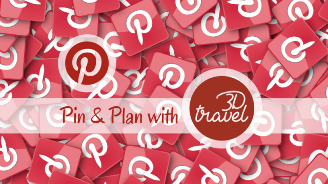 Pin & Plan with 3D Travel!