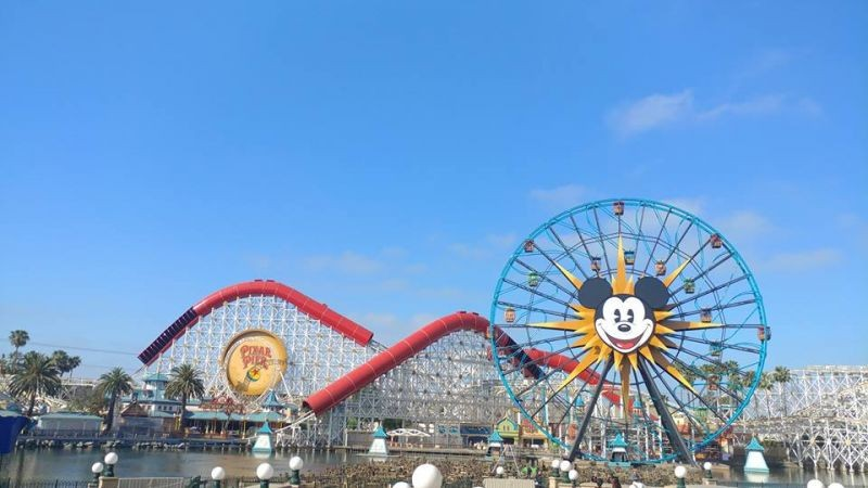 Putting the finishing touches on Pixar Pier