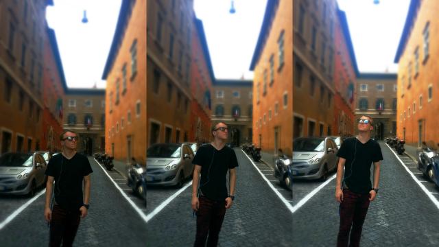 Joshua In Italy
